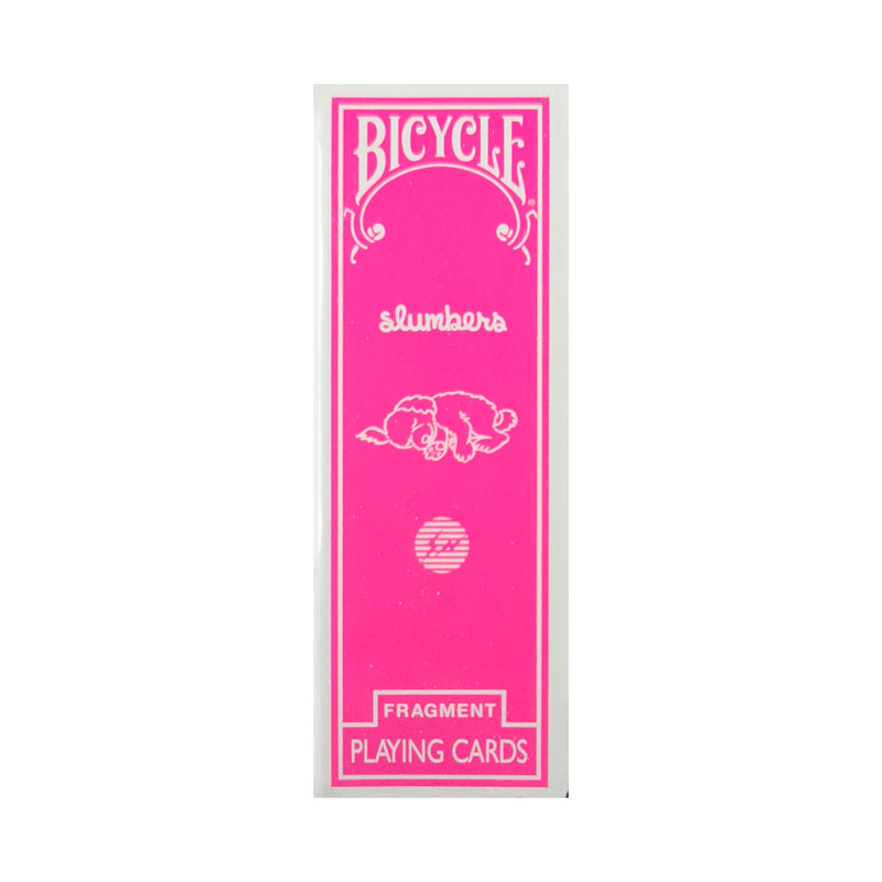 Bicycle Fragment Skinny Pink Playing Cards