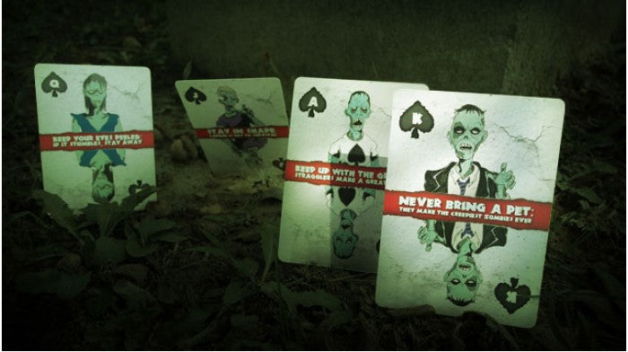Bicycle Zombie Playing Cards