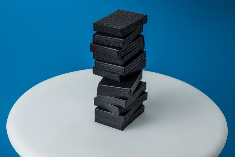Mailchimp Black Playing Cards