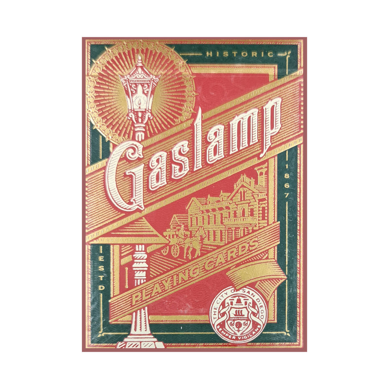 Gaslamp Playing Cards
