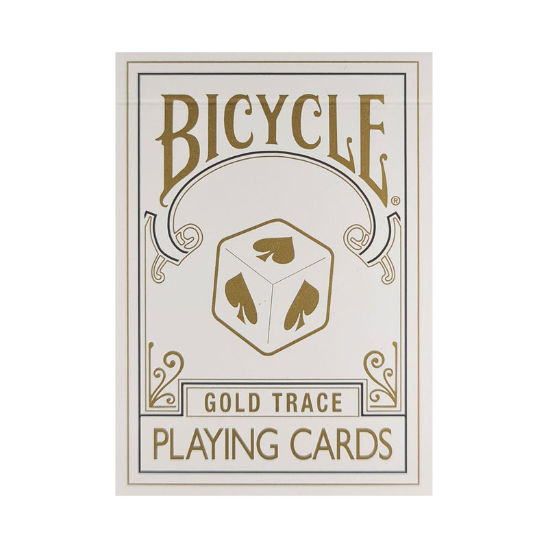 Bicycle Trace Gold Playing Cards
