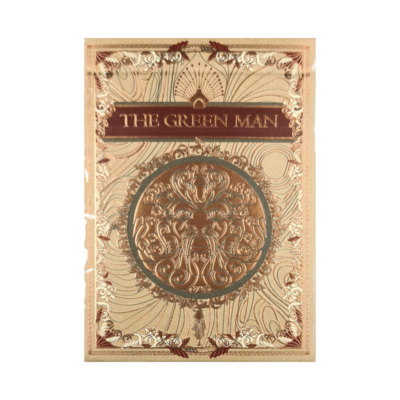 Green Man Autumn Playing Cards