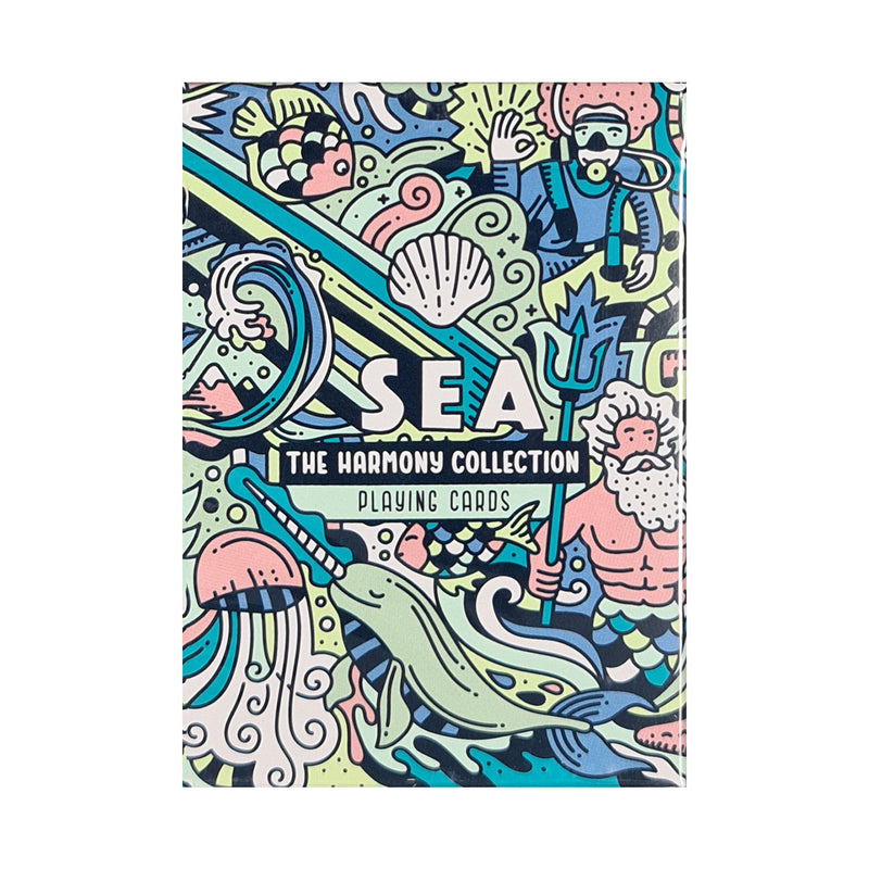 Harmony Collection Sea Playing Cards