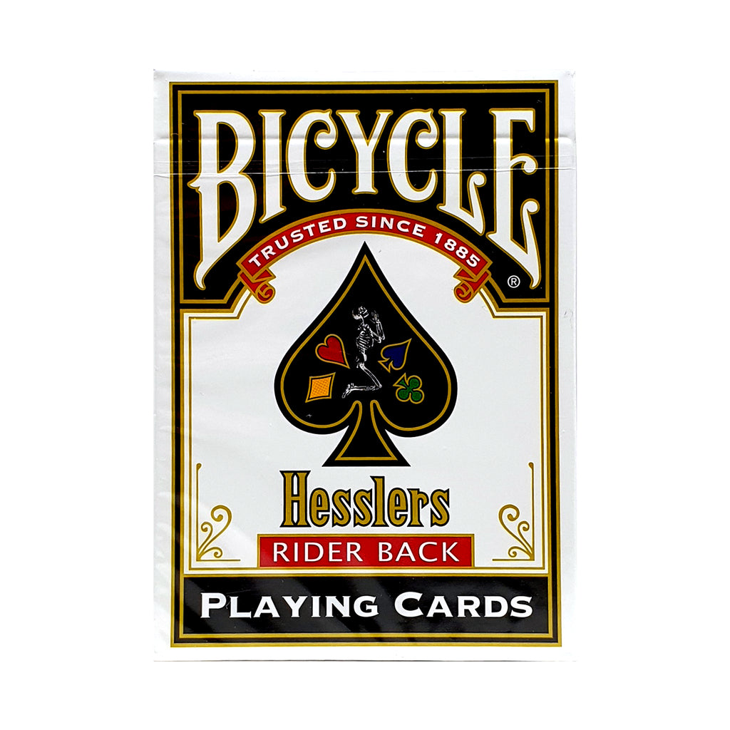 Bicycle Hesslers Red Playing Cards