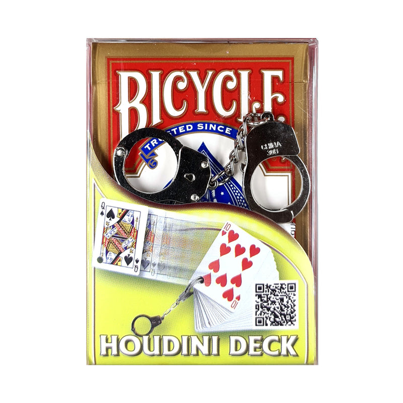 Bicycle Houdini Deck Red Playing Cards
