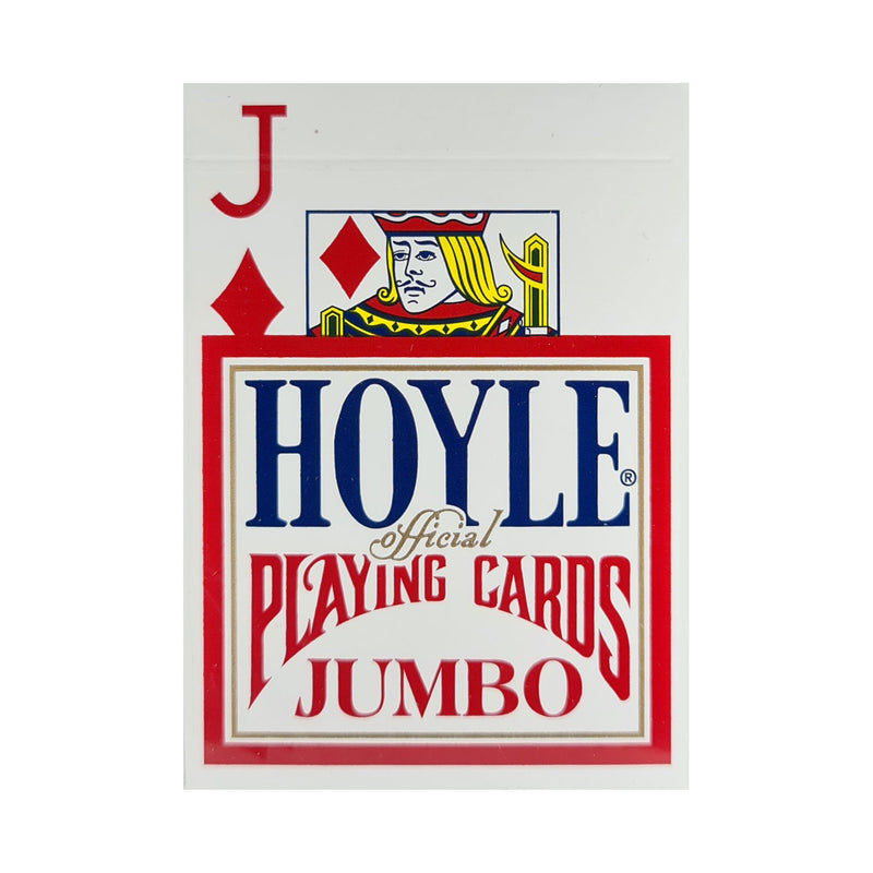 Hoyle Jumbo Index Red Playing Cards