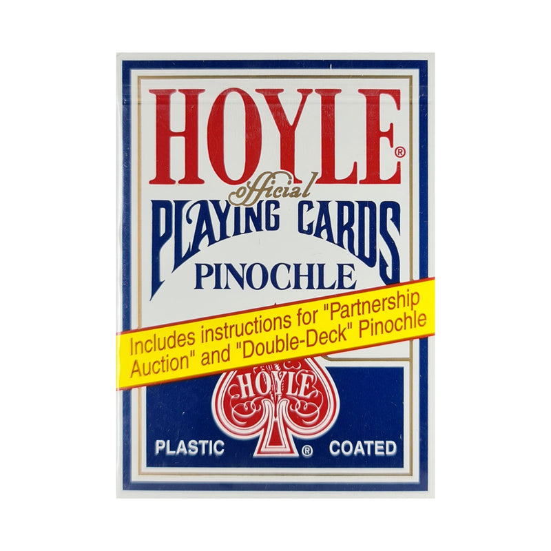 Hoyle Pinochle Blue Playing Cards