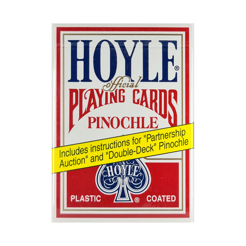 Hoyle Pinochle Red Playing Cards
