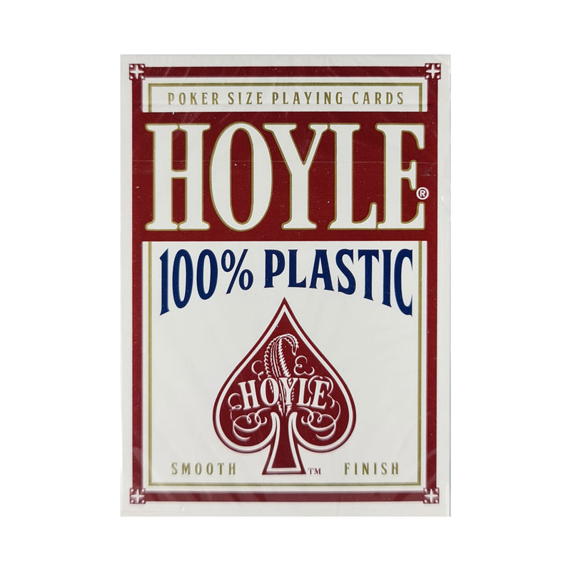 Hoyle Red (Plastic) Playing Cards