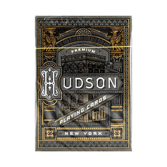 Hudson Black Playing Cards