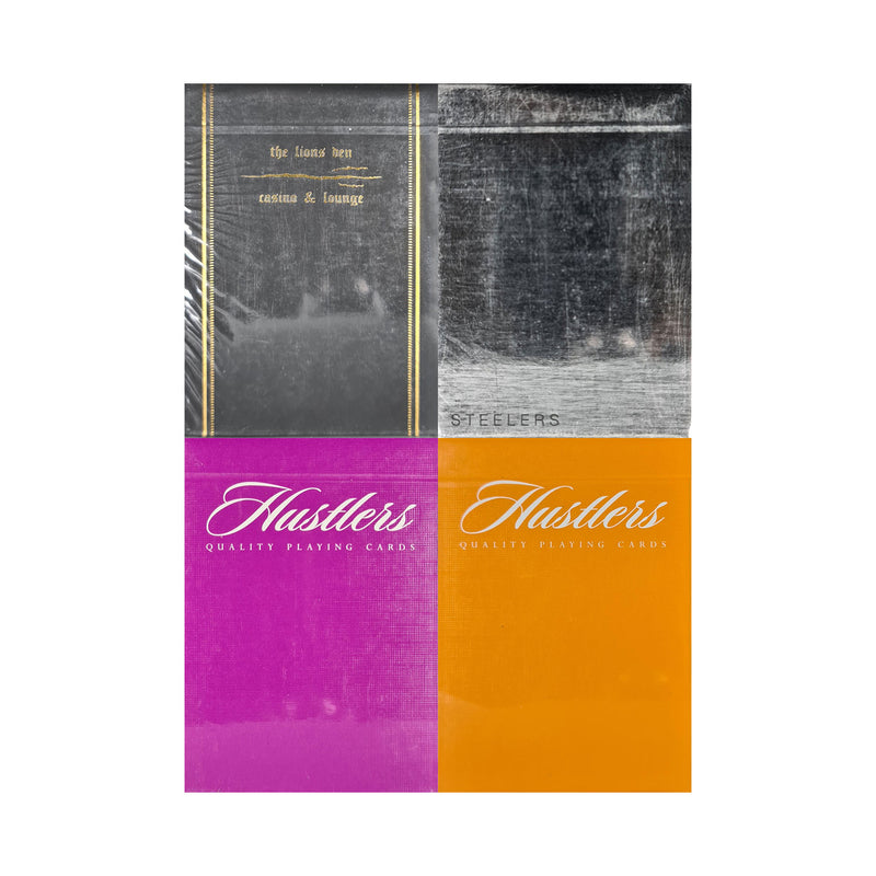 Ellusionist Set 4 (4 Decks) Playing Cards