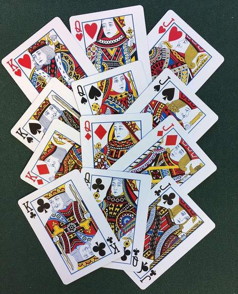 Arrco US Regulation Red Playing Cards
