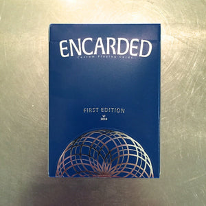 Encarded Playing Cards (Signed)