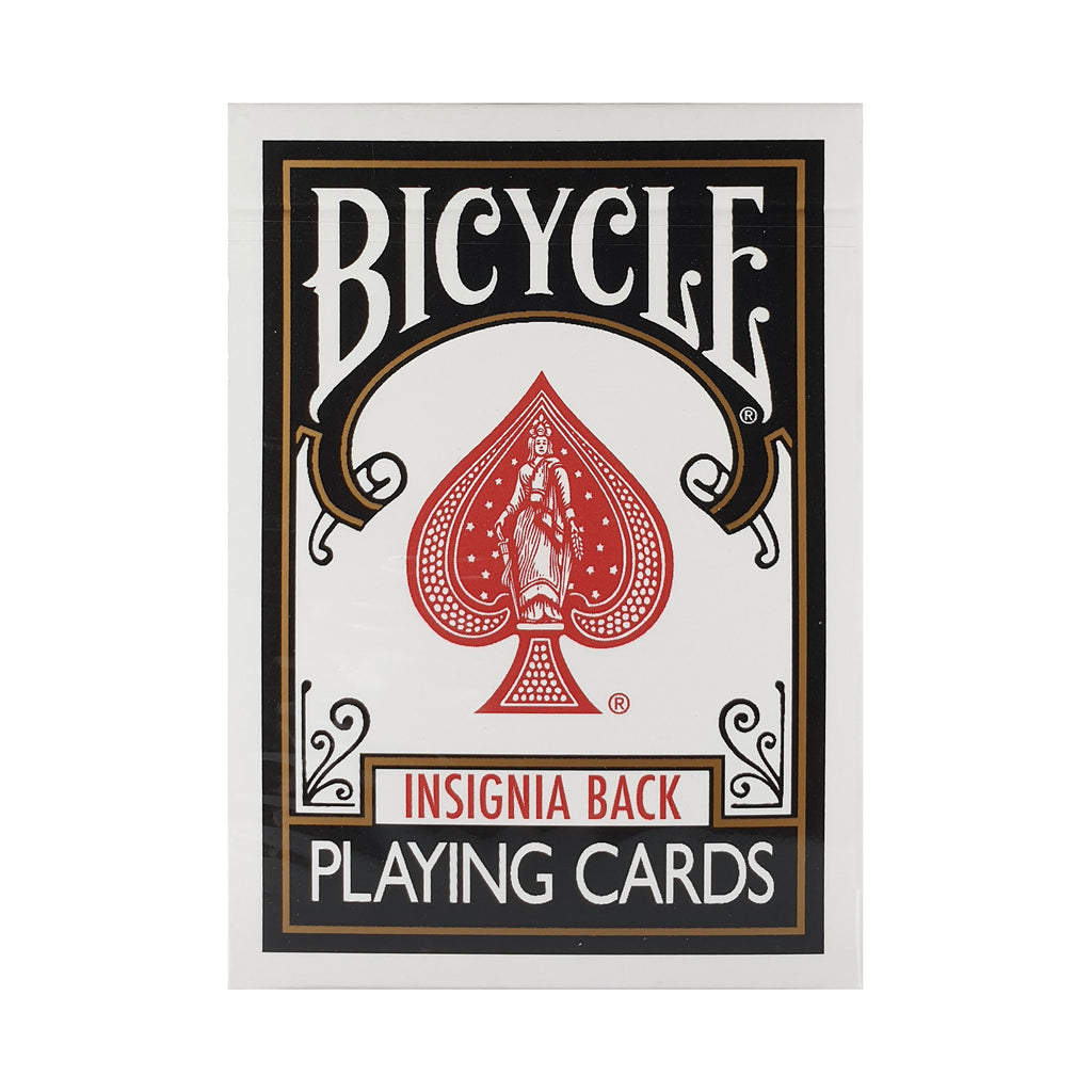Bicycle Insignia Black Playing Cards