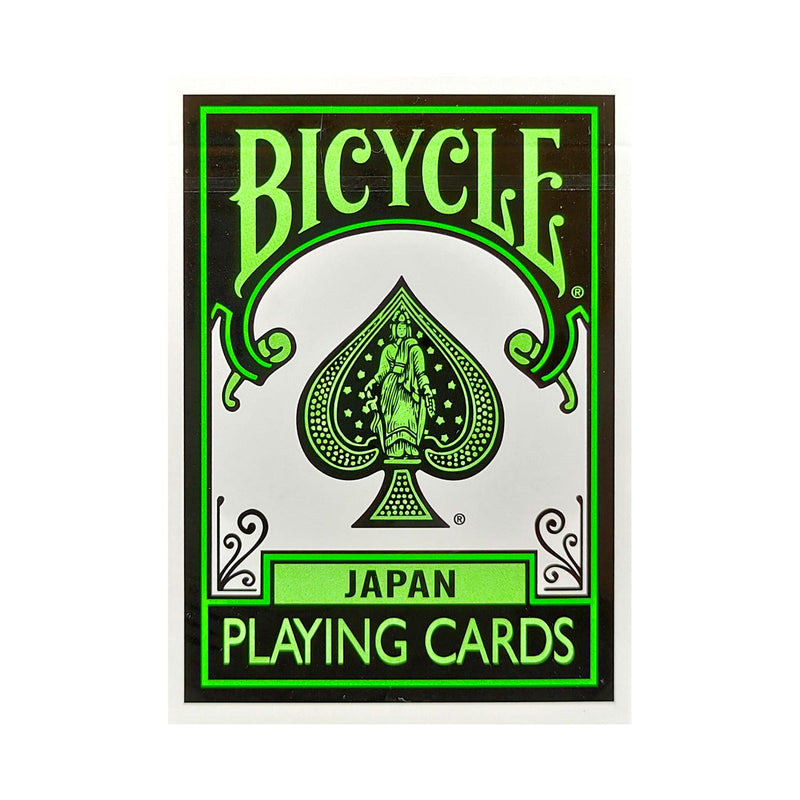Bicycle Japan Green Playing Cards