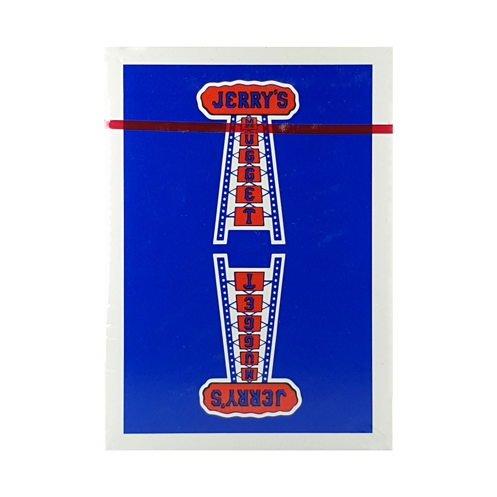 Jerry's Nugget Vintage Feel Blue Playing Cards