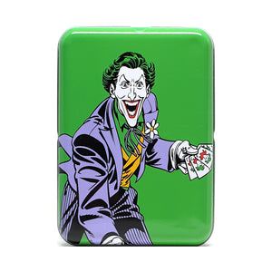 DC Super Heroes Joker Tin Playing Cards