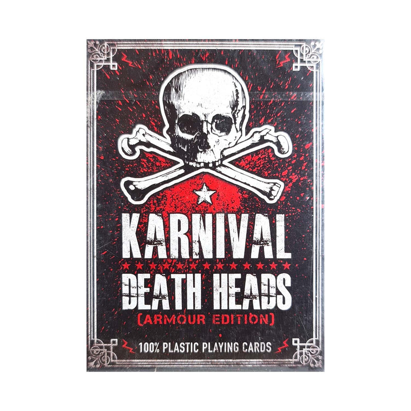 Karnival Death Heads Armour Edition (Plastic) Playing Cards