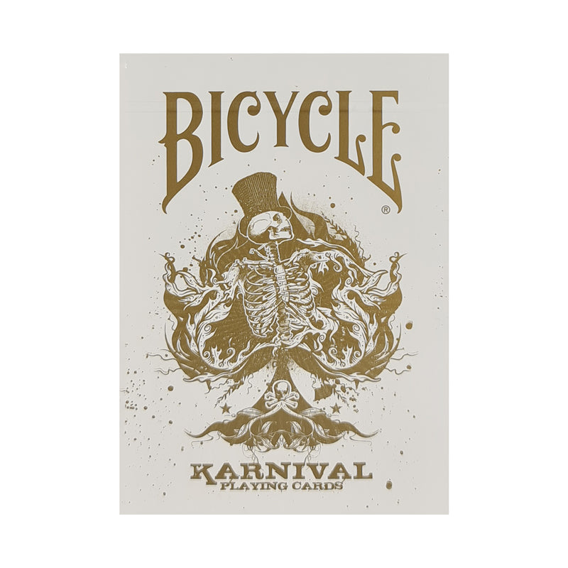 Bicycle Karnival Gold Playing Cards