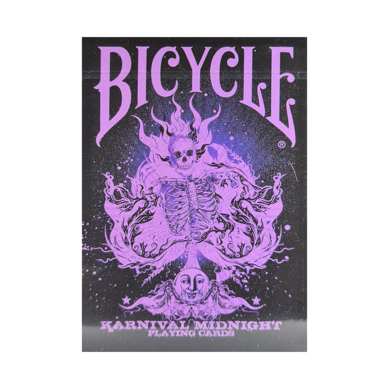 Bicycle Karnival Midnight Purple Playing Cards