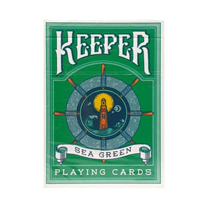 Keeper Green Playing Cards