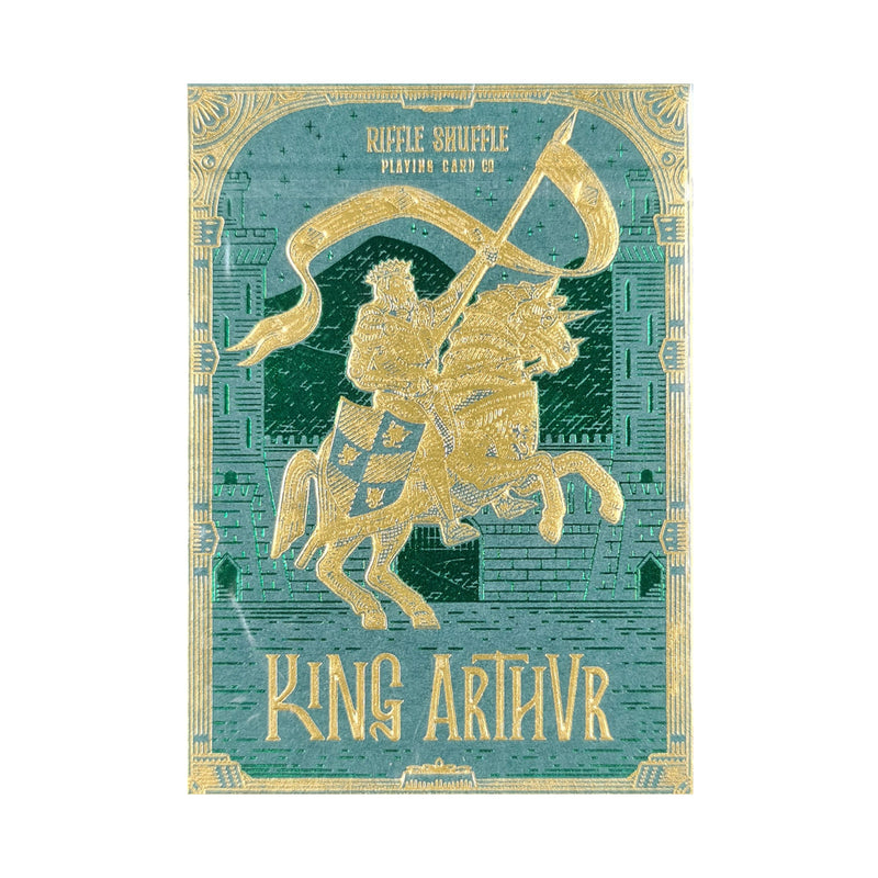 King Arthur Emerald Saga Playing Cards