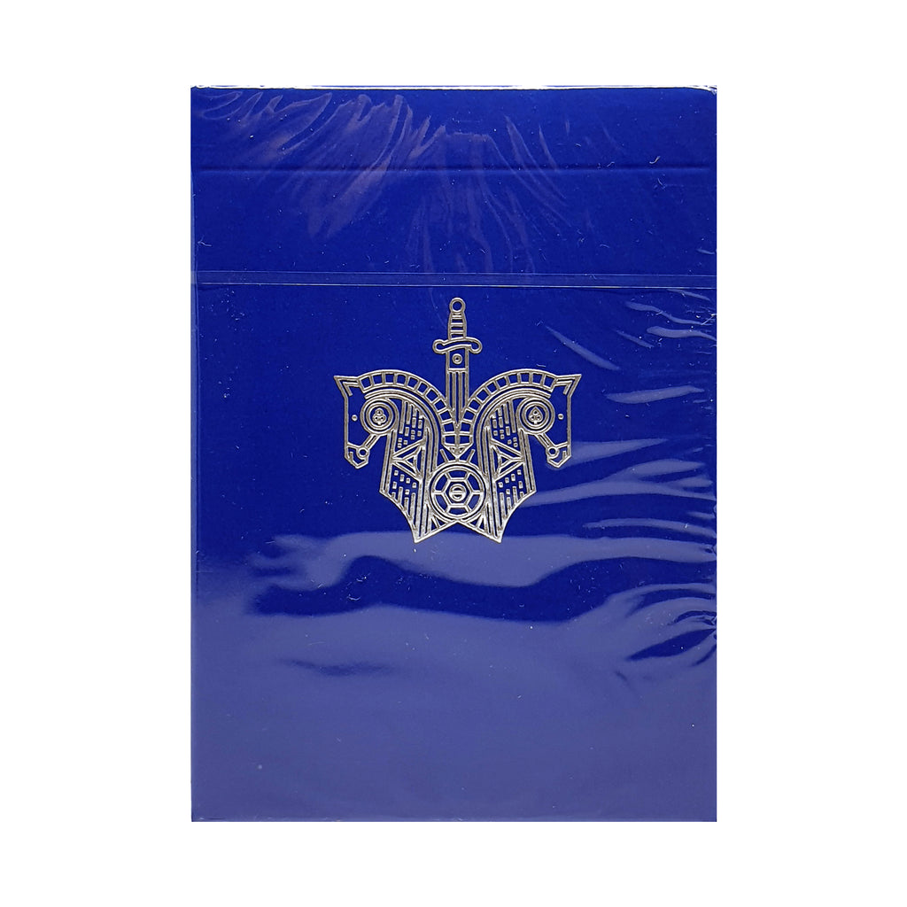Knights Blue Playing Cards