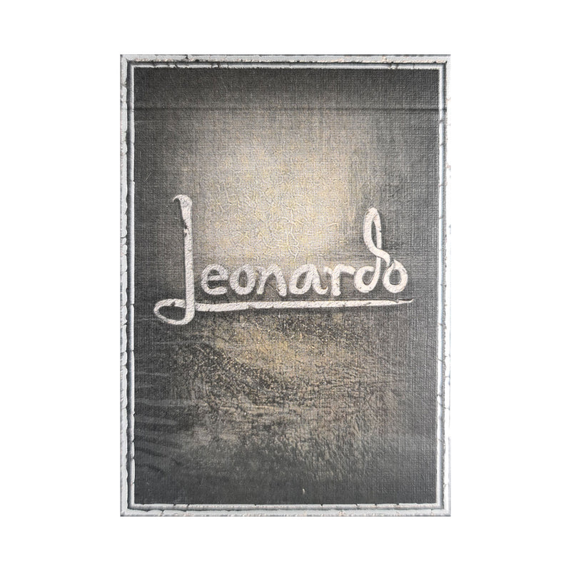 Leonardo MMXVIII Silver Edition Playing Cards