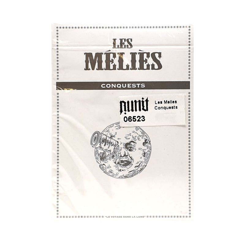 Les Melies Conquest White Playing Cards