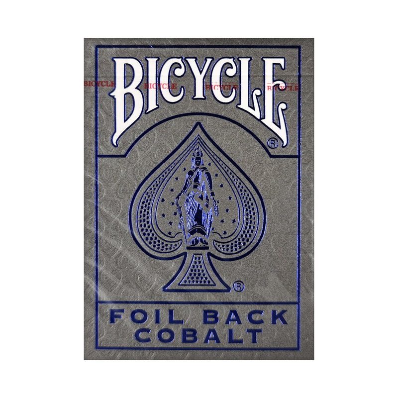 Bicycle Rider Back Luxe Cobalt v2 Playing Cards