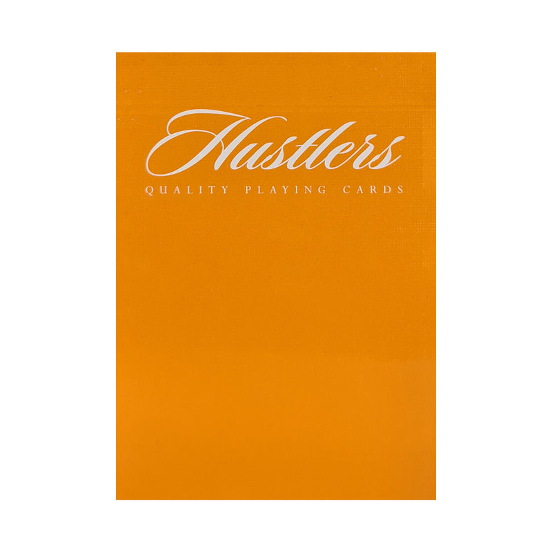 Madison Hustlers Orange Playing Cards