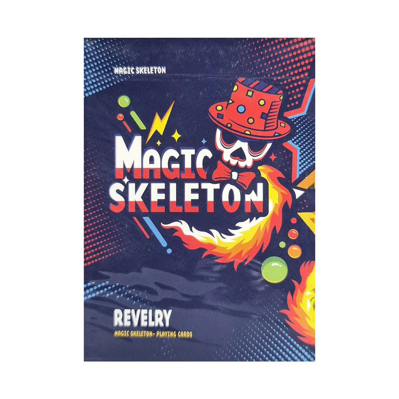 Magic Skeleton Playing Cards