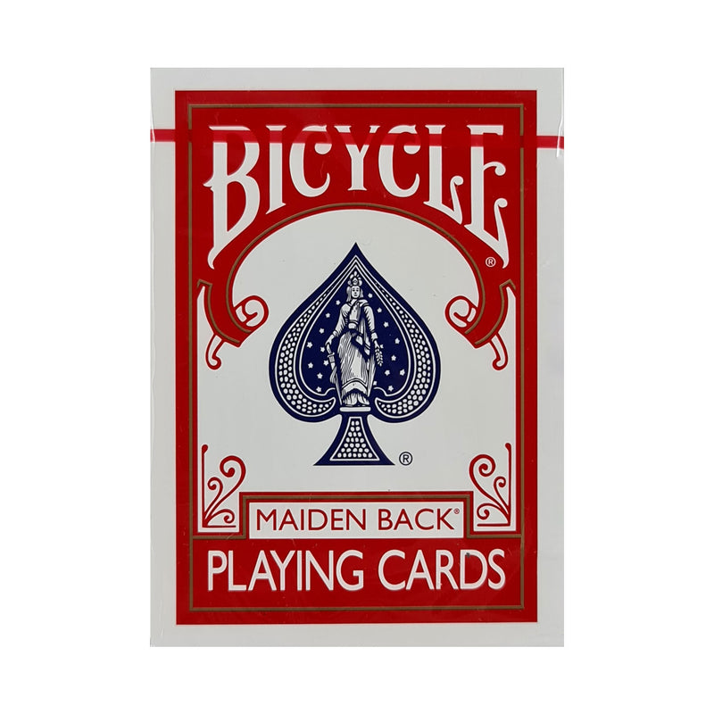 Bicycle Maiden Marked Mnemonica Red Playing Cards