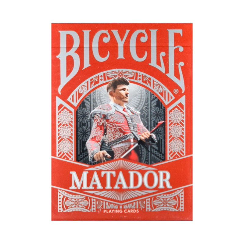 Bicycle Matador Red Playing Cards