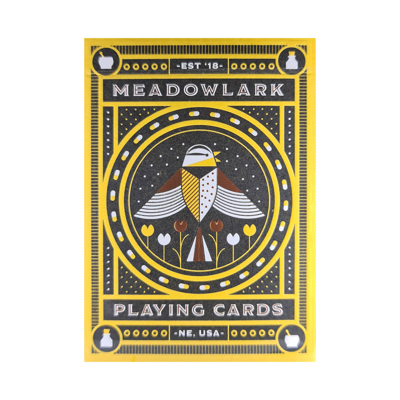Meadowlark Playing Cards
