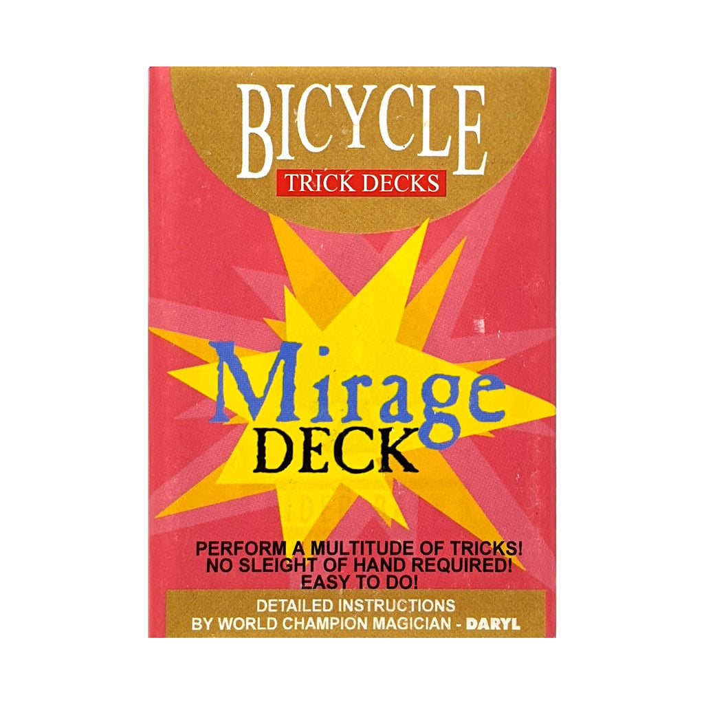 Bicycle Mirage Deck Rider Back