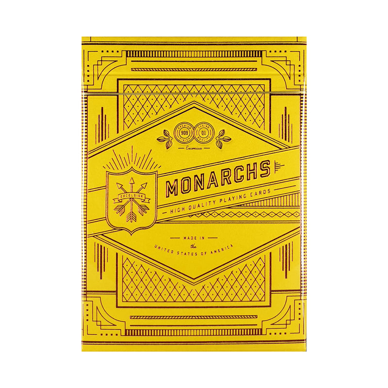 Monarchs Mandarin Playing Cards