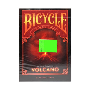 Bicycle Natural Disasters Volcano Playing Cards