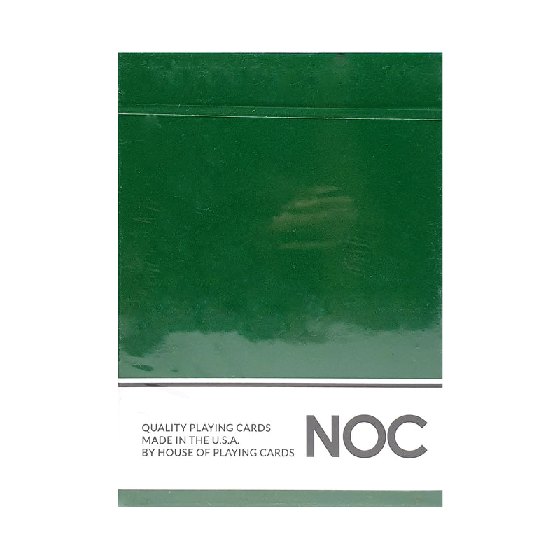 NOC Originals Green Playing Cards