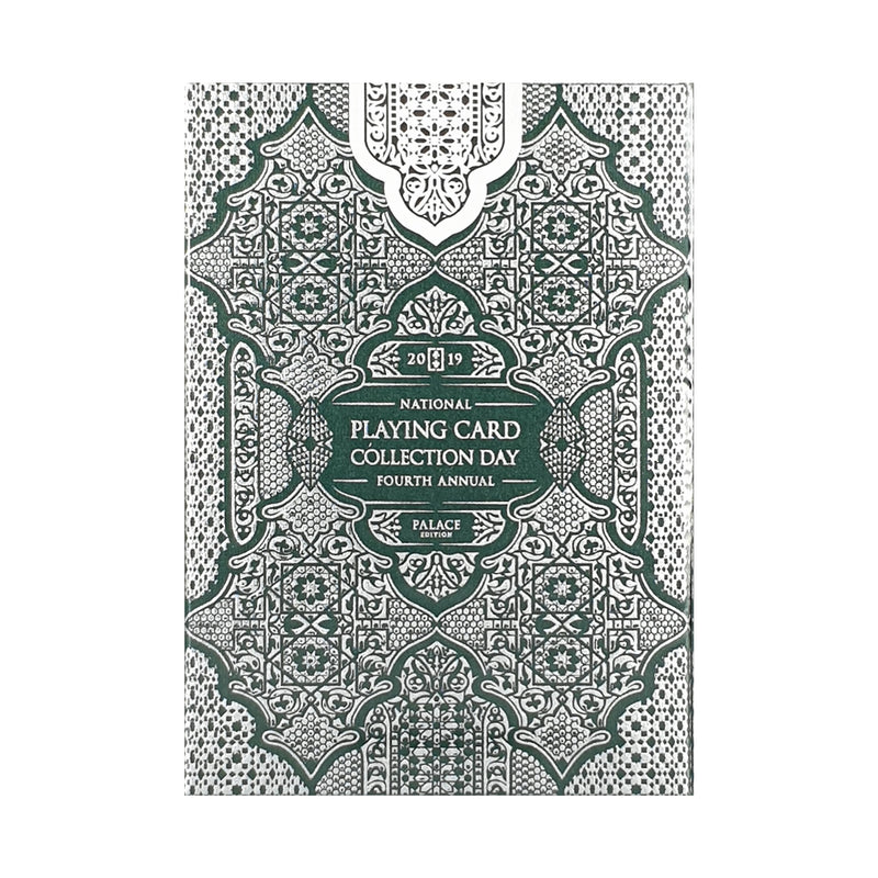 National Card Collection Day 2019 Arch Green/Silver Playing Cards