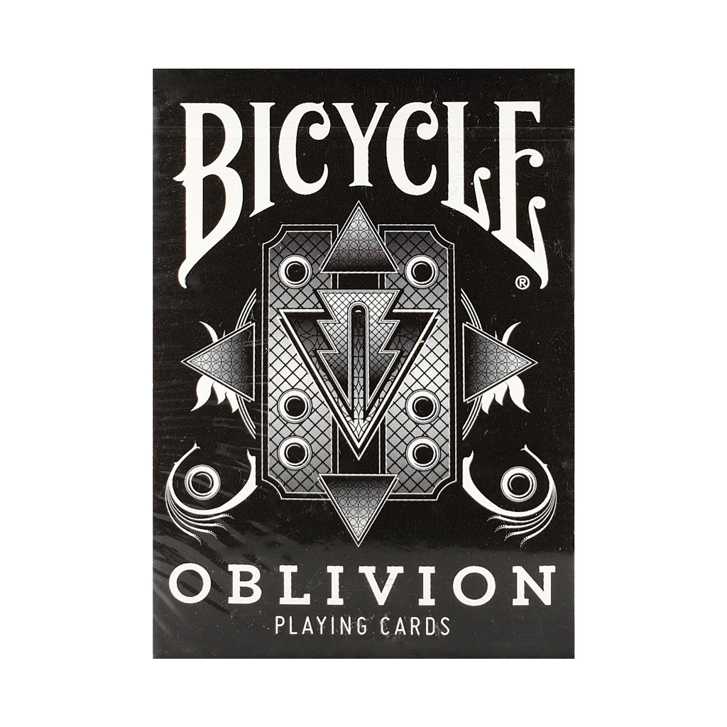 Bicycle Oblivion Black Playing Cards