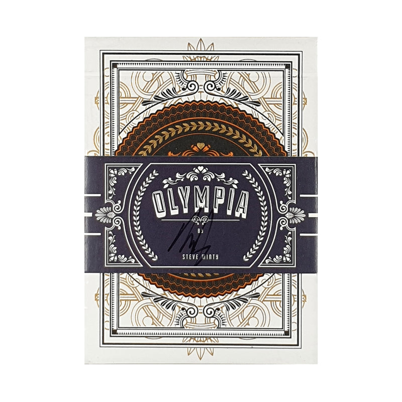 Olympia (Signed) Playing Cards