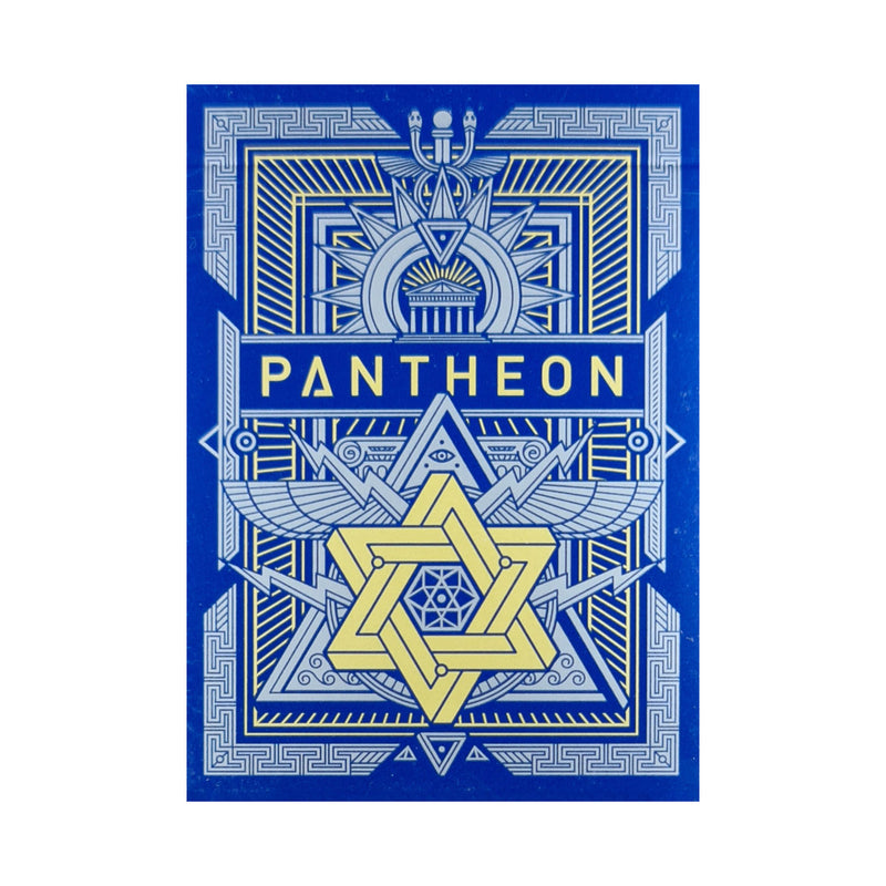 Pantheon Azure Playing Cards