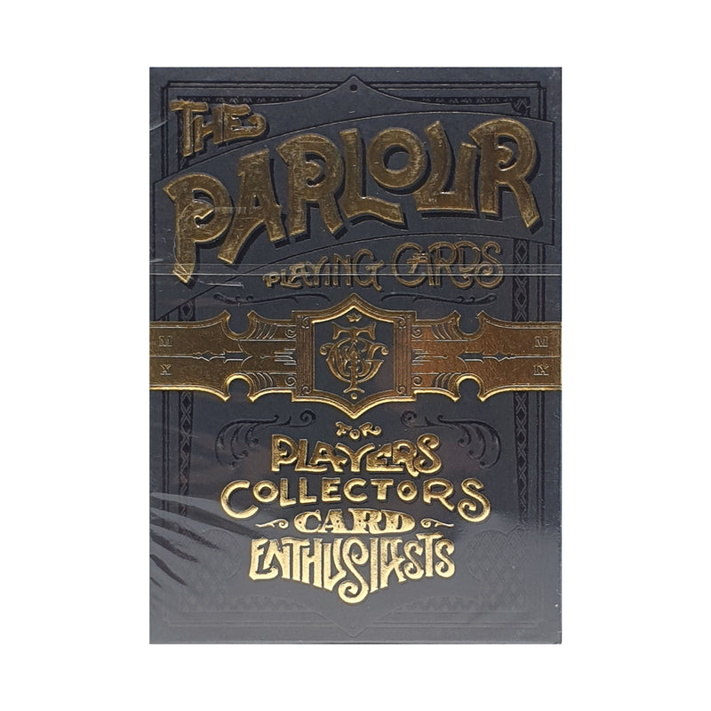 Parlour Limited Edition Black Playing Cards