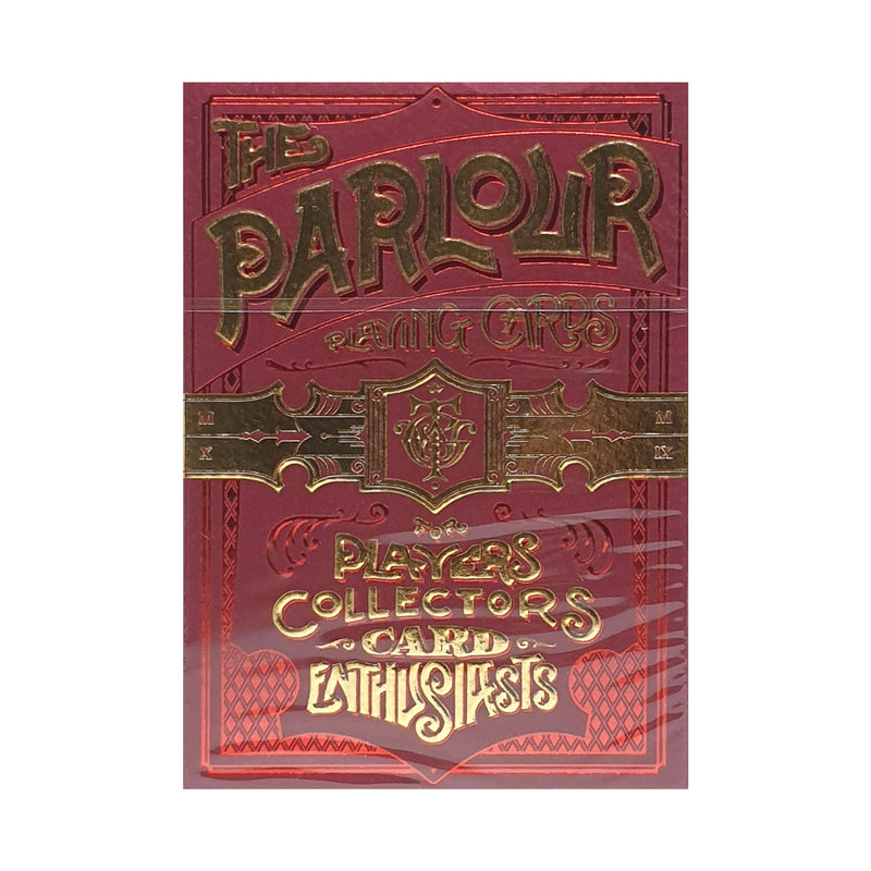Parlour Red Playing Cards