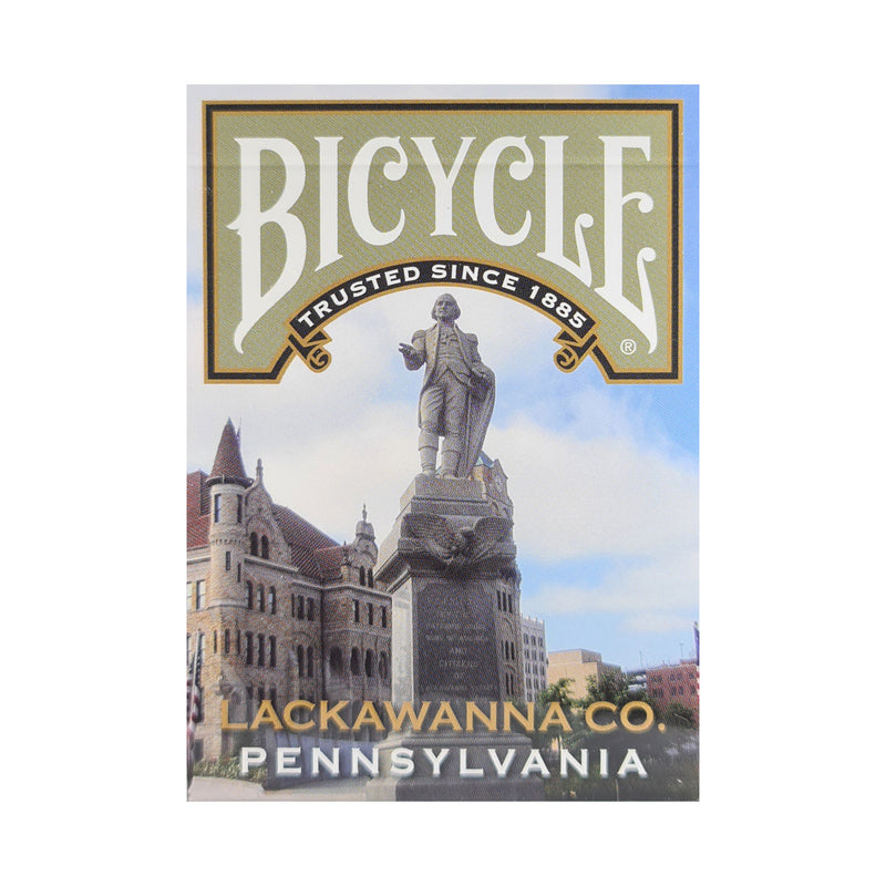 Bicycle Pennsylvania Lackawanna Playing Cards