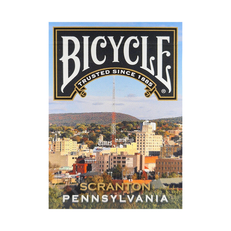 Bicycle Pennsylvania Scranton Playing Cards