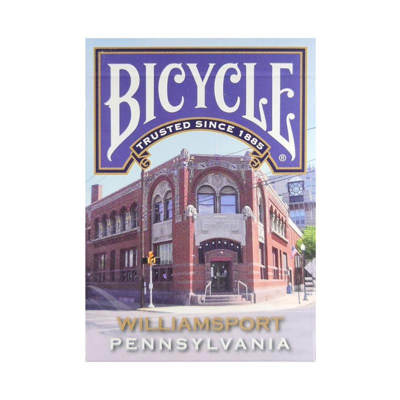Bicycle Pennsylvania Williamsport Playing Cards