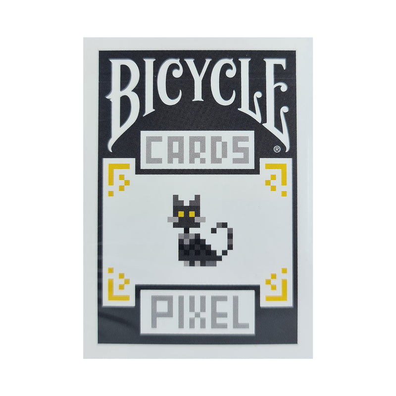 Bicycle Pixel Cat Playing Cards