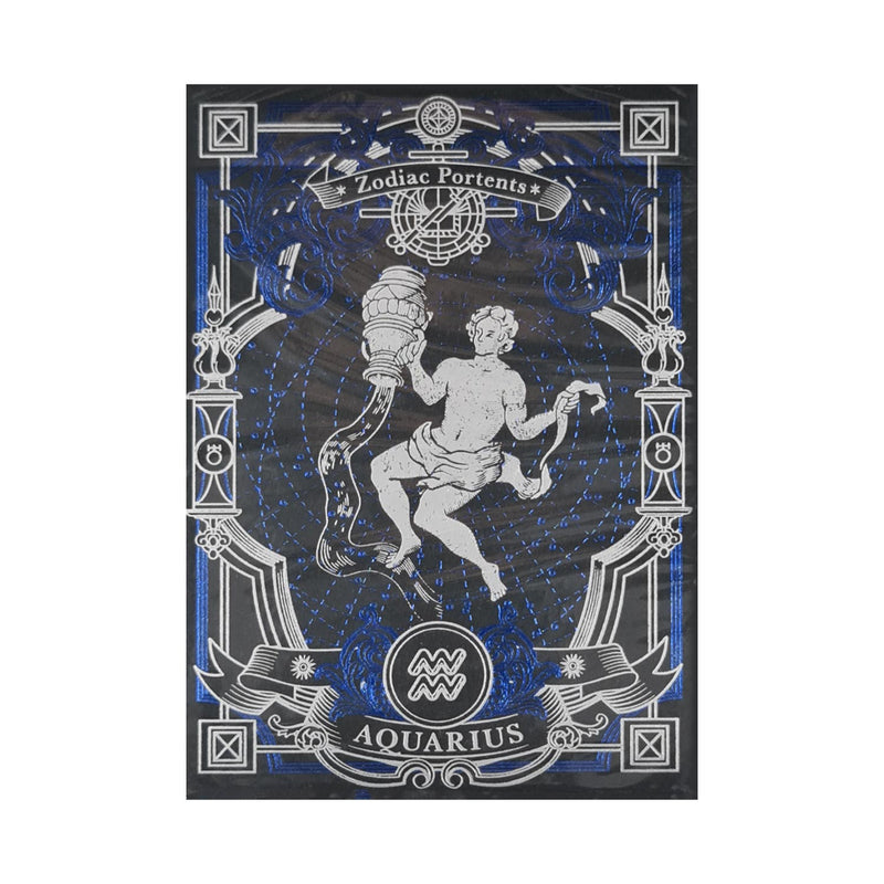 Zodiac Portents Aquarius Playing Cards